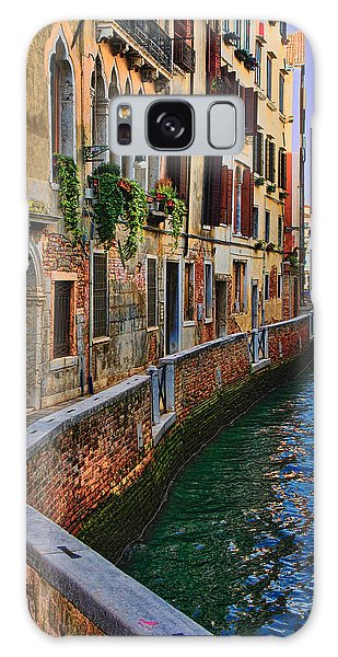 On The Canal-venice Galaxy Case by Tom Prendergast