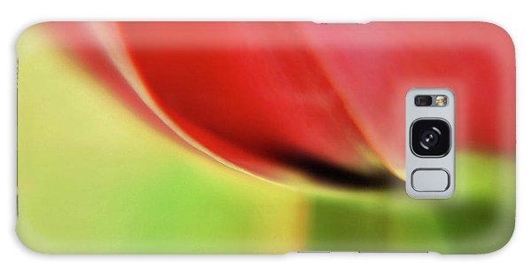 Tulip's  Edge Galaxy Case by Elaine Manley