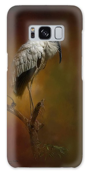 Stork Galaxy S8 Case - On The Fork by Marvin Spates
