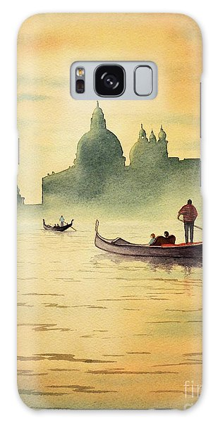 On The Grand Canal Venice Italy Galaxy Case by Bill Holkham