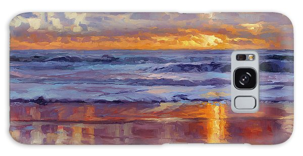 Galaxy Case featuring the painting On The Horizon by Steve Henderson