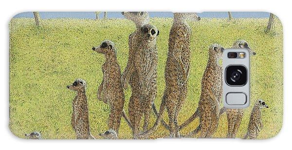 Meerkat Galaxy S8 Case - On The Lookout by Pat Scott
