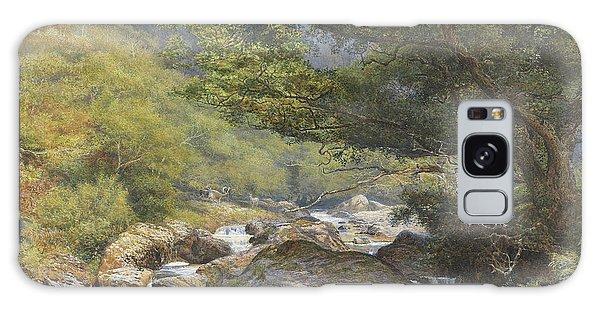 North Devon Galaxy Case - On The Lyn, North Devon by William Henry Millais