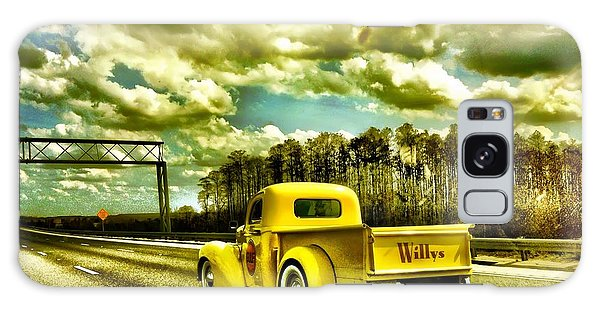 On The Road Again Galaxy Case by Carlos Avila