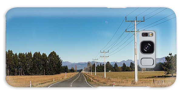 Galaxy Case featuring the photograph On The Road by Gary Eason