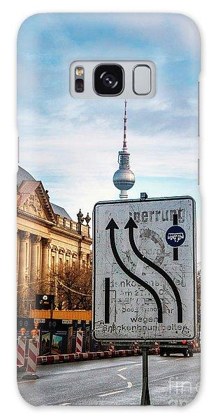 On The Road In Berlin Galaxy Case