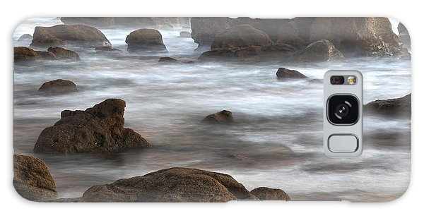 Galaxy Case featuring the photograph On The Rocks by Robert Och