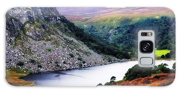 On The Shore Of Lough Tay. Wicklow. Ireland Galaxy Case