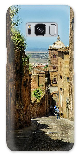 On The Streets Of Caceres Galaxy Case