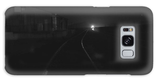 On The Tracks At Night Galaxy Case