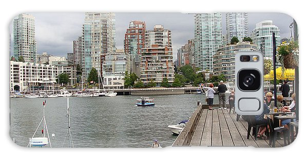 On The Water At False Creek Vancouver Galaxy Case by Rod Jellison
