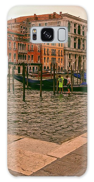 Galaxy Case featuring the photograph On The Waterfront by Anne Kotan