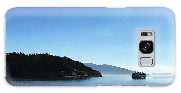 Galaxy Case featuring the photograph On The Way To Orcas by Lorraine Devon Wilke