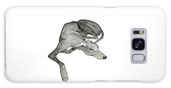 Sighthound Galaxy Case - On Watch by Richard Williamson