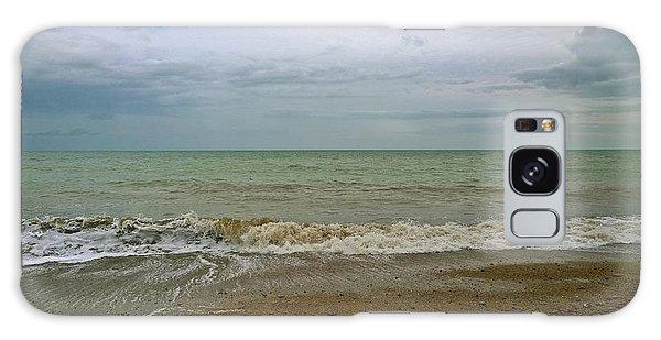 On Weymouth Beach Galaxy Case by Anne Kotan