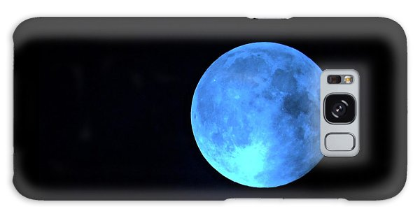 Once In A Blue Moon Galaxy Case