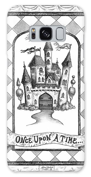 Pen And Ink Drawing Galaxy Case - Once Upon A Time by Adam Zebediah Joseph