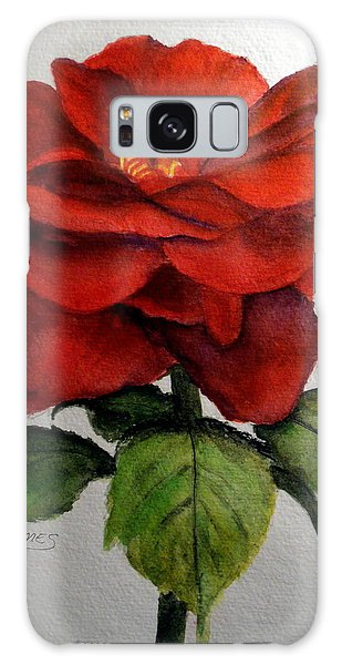 One Beautiful Rose Galaxy Case by Carol Grimes