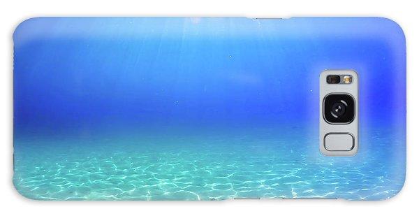 Swimming Galaxy Case - One Deep Breath by Nicklas Gustafsson