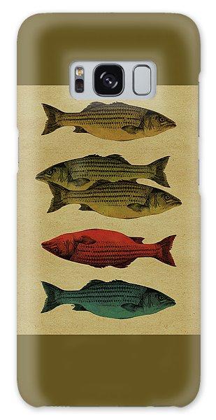 One Fish, Two Fish . . . Galaxy Case by Meg Shearer