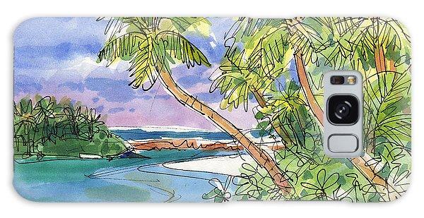 One-foot-island, Aitutaki Galaxy Case