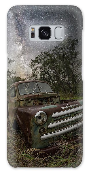 Galaxy Case featuring the photograph One Headlight  by Aaron J Groen