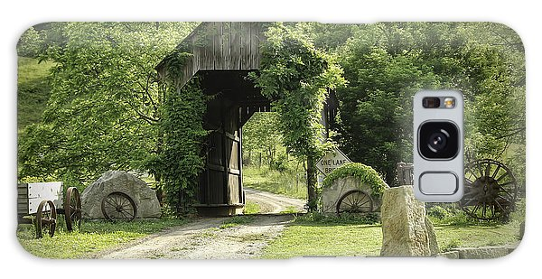 One Lane Covered Bridge Galaxy Case
