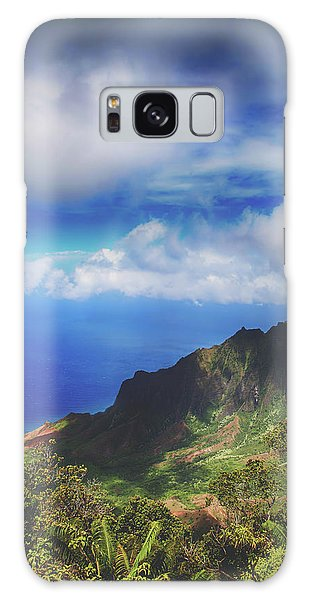 Cloudscape Galaxy Case - One Life by Laurie Search