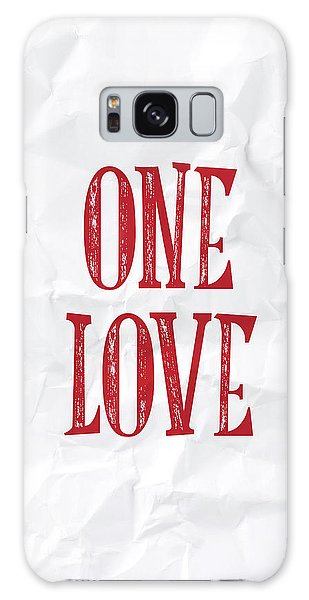 Thought Provoking Galaxy Case - One Love by Samuel Whitton
