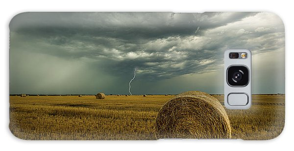 Galaxy Case featuring the photograph One More Time A Round by Aaron J Groen