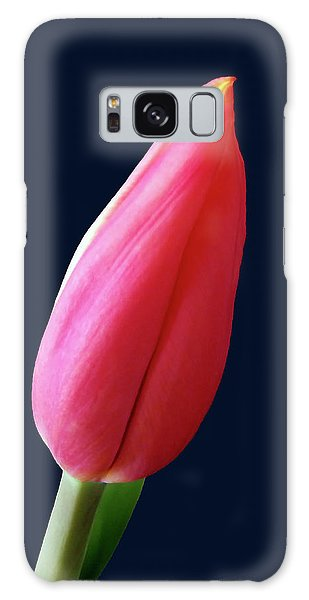 One Red Tulip Galaxy Case