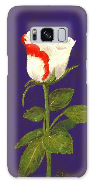 Galaxy Case featuring the pastel One Rose by Anastasiya Malakhova