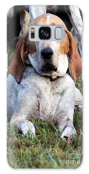 One Tired Hound Galaxy Case