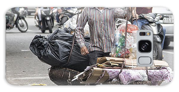 One Woman Street Life Hanoi Galaxy Case