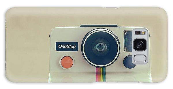 Galaxy Case featuring the photograph Onestep Polaroid by Ana V Ramirez