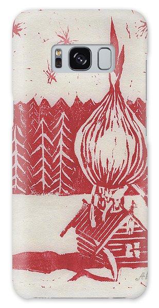 Onion Dome Galaxy Case by Alla Parsons