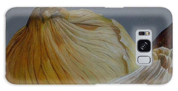 Onions And Garlic Galaxy Case