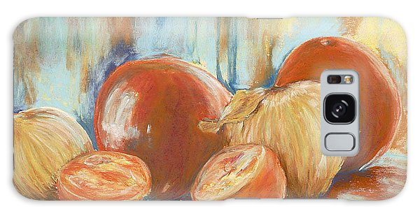 Onions And Tomatoes Galaxy Case