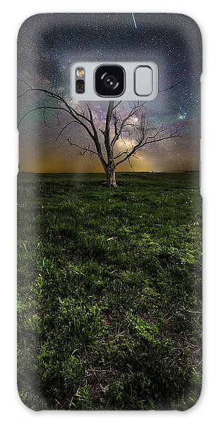 Galaxy Case featuring the photograph Only by Aaron J Groen