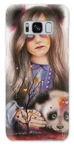 Only Friend In The World - Panda Precious Galaxy Case by Sheena Pike