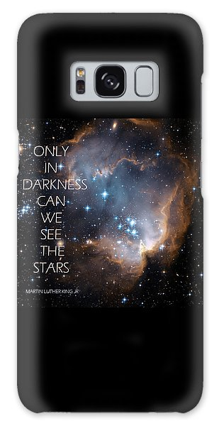 Only In Darkness Galaxy Case