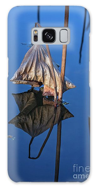 Galaxy Case featuring the photograph Only In Still Water by Linda Lees