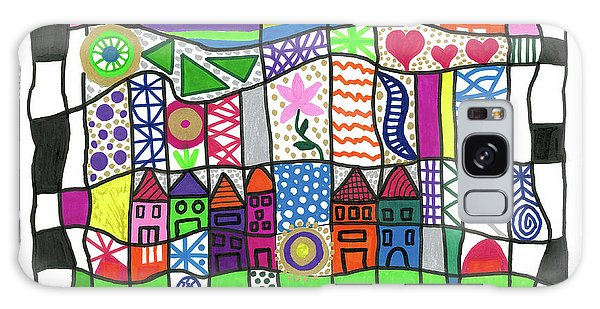 Oodles Of Doodles Galaxy Case