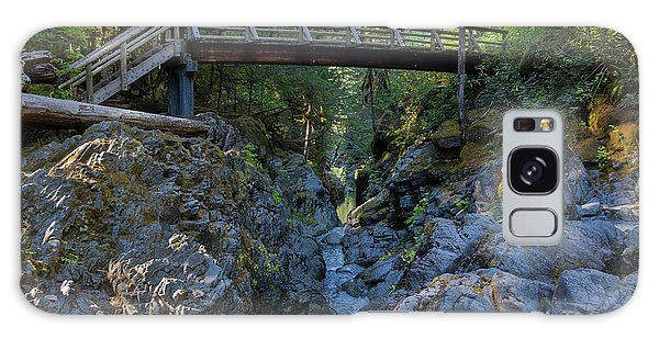 Opal Creek Bridge Galaxy Case