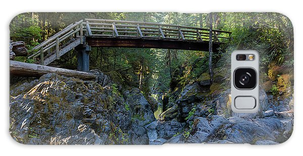 Opal Creek Bridge Galaxy Case