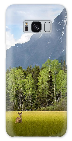 Open Spaces // Glacier National Park  Galaxy Case