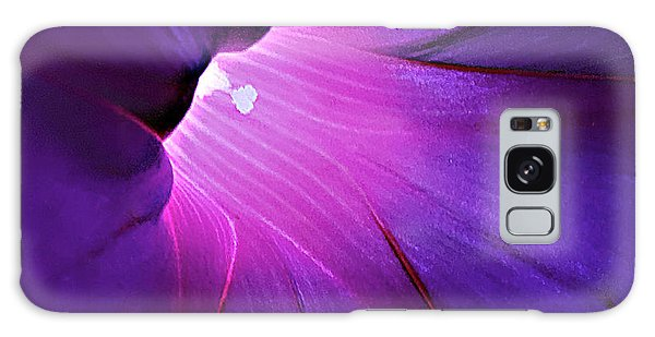 Opening One's Heart Galaxy Case by Sherry Hallemeier