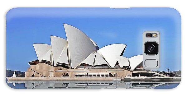 Galaxy Case featuring the painting Opera House by Harry Warrick