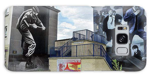 Operation Motorman Mural In Derry Galaxy Case by RicardMN Photography