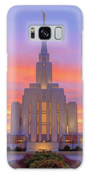 Temple Galaxy Case - Oquirrh Mountain Temple IIi by Chad Dutson